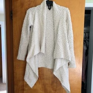 Cream color boucle sweater
